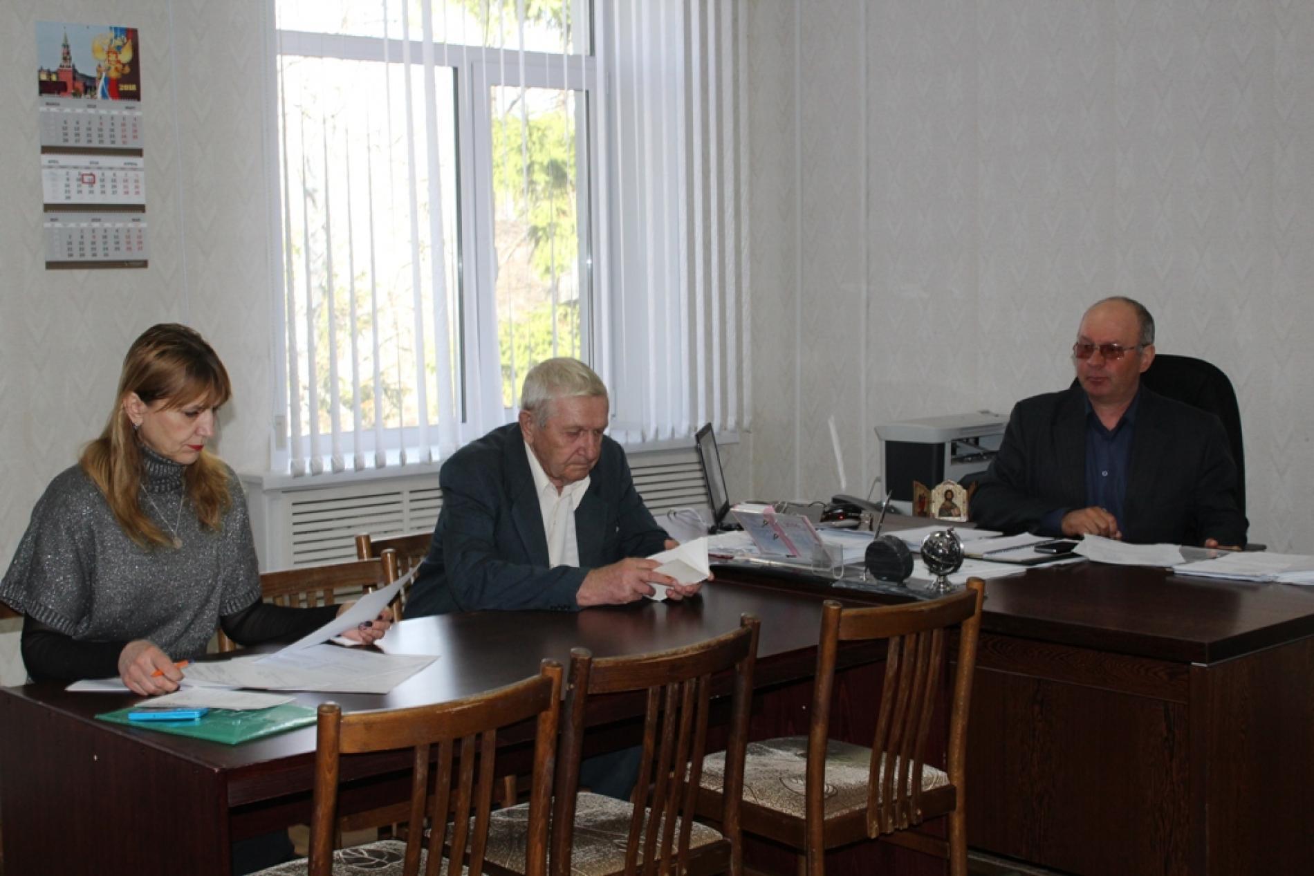 Заседание по подготовке к празднованию 73-й годовщине Победы в Великой Отечественной войне 1941-1945гг.